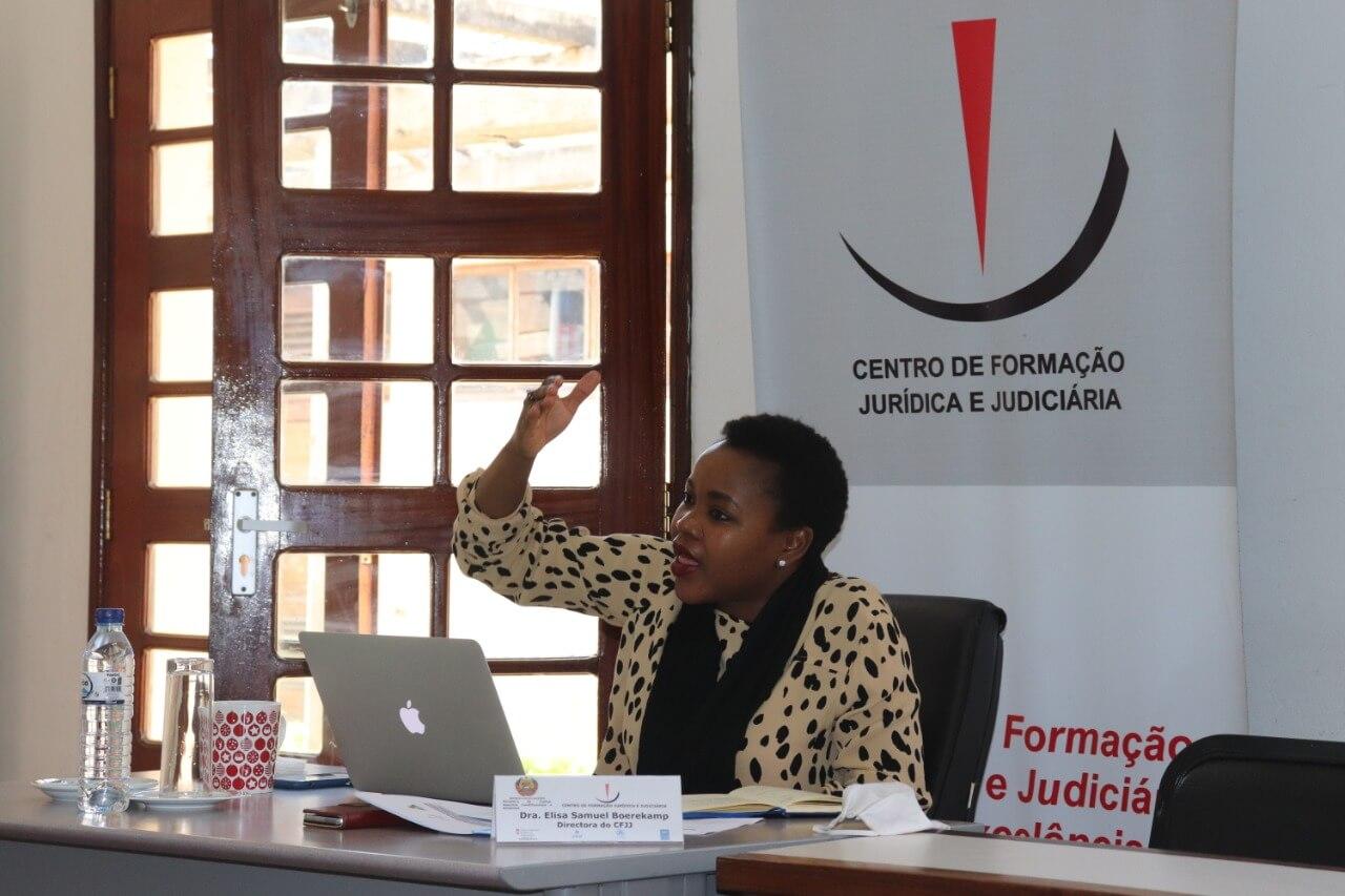 Directora do CFJJ, Elisa Samuel Boerkamp
